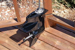 Mercury Or Mariner 18 20 25 Hp Outboard Lower Unit Early Short Black