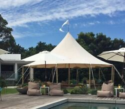 Commercial Wedding Event Beach Pool Patio Marquee Star Stretch Umbrella Tent New