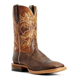 Ariat® Men's Tobacco & Texas Tan Relentless High Call Boots 10029727 $119.97