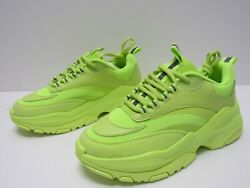 ASOS DESIGN Trainers Sneakers in neon with chunky sole Men's Size UK 6 US 7