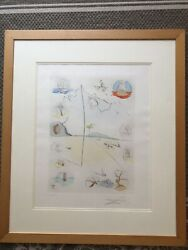 Salvatore Dali The 12 Tribes Of Israel- Frontispiece Le Hand Signed - Wow