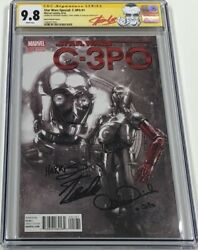 Star Wars Special C-3PO #1 1:1000 Signed Stan Lee & Anthony Daniels CGC 9.8 SS