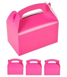 12 Pack. Hot Pink Treat Boxes (6 14