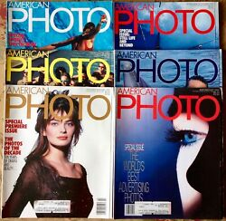American Photographer Photo Magazine Jan-december 1990 Complete Year 6 Issues
