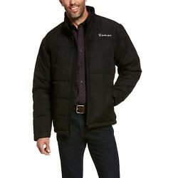 Ariatandreg Menand039s Crius Black Insulated Concealed Carry Jacket 10028355