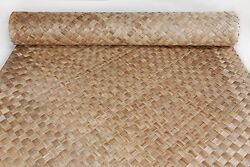 4and039 X 8and039 Lauhala Matting Tropical Wall Ceiling Bar Covering Tiki Hut 10 Pack
