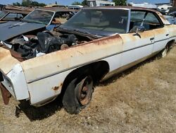 1973 Chevrolet Impala 4dr Right Upper Lower Door Hinge Parting Out Complete Car
