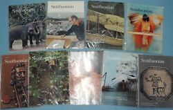 SMITHSONIAN ~  1970's + 1980's DECADE sets -- 1st 20 years , 223 issues !!