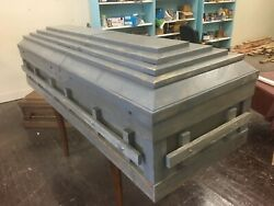 Handmade Solid Barn Wood Casket Free Local Pickup Or Delivery Within 50 Milesandnbsp