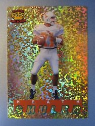 1 Of 7000 Made 1994 Pacific Knights Of Gridiron Gold Prism 20 Heath Shuler Rc