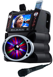 Complete Karaoke System With 2 Microphones Remote Control 7andrdquo Color Display Led