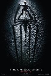 Andrew Garfield The Amazing Spiderman 27x41 Authentic Double Side Theatre Poster