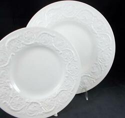 Wedgwood Patrician Dinner + Salad Plate Mild Scratching