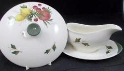 Wedgwood Covent Garden Gravy Boat + Casserole Lid Only Tk605 Great Condition