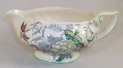 Royal Doulton The Kirkwood Gravy Boat Only -no Underplate D5130 Multicolor A+