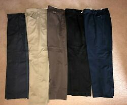 5 Uniform Work Pants Used