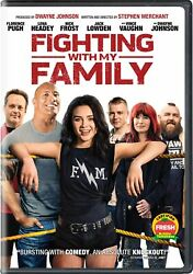Fighting With My Family DVD Florence Pugh NEW