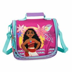 Disney Authentic Moana Lunch Box Tote Girls School Bag Princess NWT $18.95