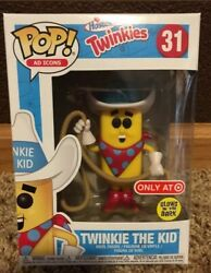 New Glows Funko Pop Twinkie The Kid 31 Target Exclusive Chase Gitd In Hand