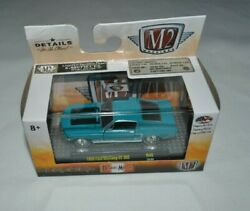 2019 M2 Machines Detroit Muscle 1968 Ford Mustang Gt 302 Turquoise R46