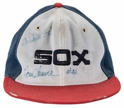 1984 Tom Seaver Game Used And Signed Chicago White Sox Cap Psa Dna And Beckett Coa