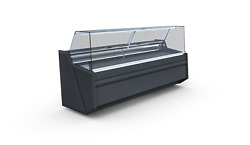 Pico Deep 2.44 Serve Over Counter Meat Display