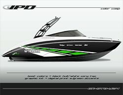 Ipd Boat Graphic Kit For Yamaha 242 Limited, Sx240, Ar240 Stb Design