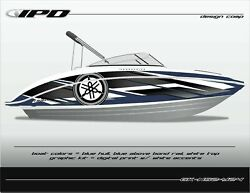 Ipd Boat Graphic Kit For Yamaha 242 Limited, Sx240, Ar240 Ns Design