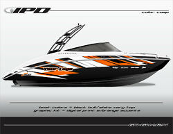 Ipd Boat Graphic Kit For Yamaha 242 Limited, Sx240, Ar240 Gh Design