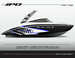 Ipd Boat Graphic Kit For Yamaha 242 Limited, Sx240, Ar240 Kc Design