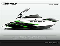 Ipd Boat Graphic Kit For Yamaha 242 Limited, Sx240, Ar240 K2 Design