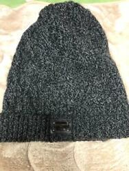 Dolce And Gabbana Authentic Men's Knit Hat Grey Wool 100 Sizefree