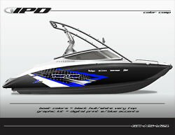 Ipd Boat Graphic Kit For Yamaha Sx190, Sx192, Ar190 And Ar192 Ns Design