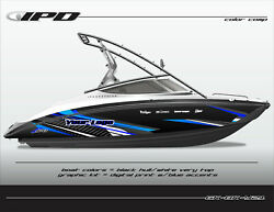 Ipd Boat Graphic Kit For Yamaha 212x, 212ss, Sx210, And Ar210 Bk Design