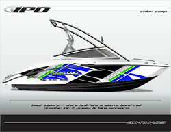 Ipd Boat Graphic Kit For Yamaha 212x 212ss Sx210 And Ar210 Rm Design