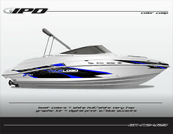 Ipd Boat Graphic Kit For Yamaha 232 Limited, Sx230, Ar230 K2 Design