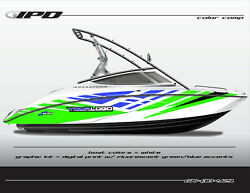 Ipd Boat Graphic Kit For Yamaha Sx190 Sx192 Ar190 And Ar192 Ob Design