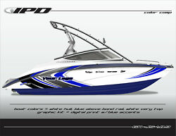 Ipd Boat Graphic Kit For Yamaha Sx190, Sx192, Ar190 And Ar192 Js Design