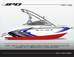 Ipd Boat Graphic Kit For Yamaha 212x, 212ss, Sx210, And Ar210 Js Design