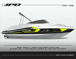 Ipd Boat Graphic Kit For Yamaha 232 Limited, Sx230, Ar230 Kw Design