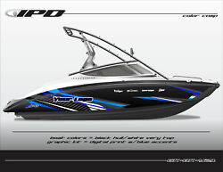 Ipd Boat Graphic Kit For Yamaha Sx190 Sx192 Ar190 And Ar192 Bk Design