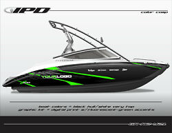 Ipd Boat Graphic Kit For Yamaha 212x, 212ss, Sx210, And Ar210 K2 Design