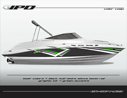 Ipd Boat Graphic Kit For Yamaha 232 Limited, Sx230, Ar230 Sc4 Design