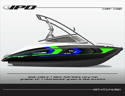 Ipd Boat Graphic Kit For Yamaha Sx190, Sx192, Ar190 And Ar192 Kw Design