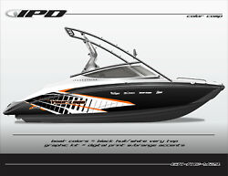 Ipd Boat Graphic Kit For Yamaha Sx190, Sx192, Ar190 And Ar192 Kc Design