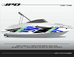 Ipd Boat Graphic Kit For Yamaha 232 Limited, Sx230, Ar230 Rm Design