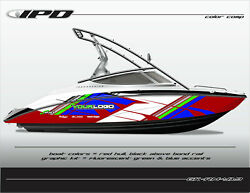 Ipd Boat Graphic Kit For Yamaha Sx190 Sx192 Ar190 And Ar192 Rm Design