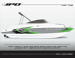 Ipd Boat Graphic Kit For Yamaha 232 Limited, Sx230, Ar230 Js Design