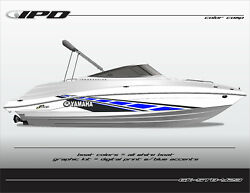 Ipd Boat Graphic Kit For Yamaha 232 Limited Sx230 Ar230 Stb Design