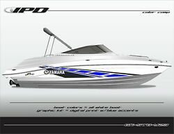 Ipd Boat Graphic Kit For Yamaha 232 Limited, Sx230, Ar230 Stb Design
